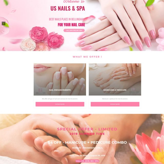 US Nails & Spa